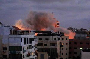 El Ejército israelí no informó de nuevas alarmas antiaéreas en las comunidades israelíes colindantes a la Franja. EFE