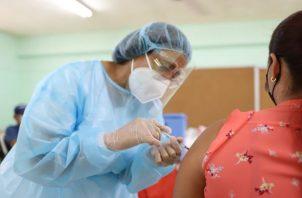 Panamá de encuentra en etapa de vacunación contra la covid-19. Foto: Archivo