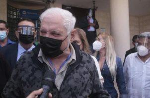 Ricardo Martinelli acusa al Gobierno de influir en la justicia panameña. Foto: Archivo