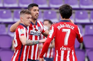 El Atlético remontó y se quedó con el título. Foto: EFE