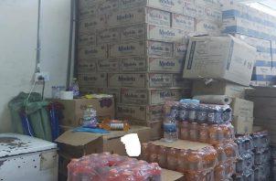 Toda la mercancía incautada fue llevada a la sede de aduanas para la valoración correspondiente. Foto: Diomedes Sánchez