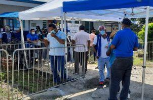 El empresario cubano acudió, supuestamente, a vacunarse en Veraguas. Foto: Melquiades Vásquez