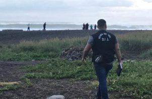 Los heridos fueron transportados por voluntarios y funcionarios de la Fuerza de Tarea Conjunta (FTC). Foto: Mayra Madrid
