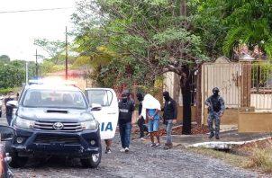 """Alias """"Rirri"""", unos de los 100 más buscado por las autoridades, fue capturado en Coronado. Foto: Archivos"""