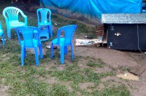 La matanza en Perú, dejó una crudas imágenes que han corrido como la pólvora en las redes sociales. Foto: Medios Internacionales