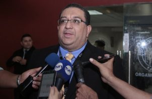 Ricaurte González, fiscal dentro del caso de los supuestos pinchazos telefónicos seguido al expresidente Ricardo Martinelli. Archivo