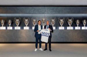 Luka Modric renovó con el Real Madrid hasta el 30 de junio de 2022. Foto: EFE