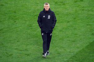 Solskjaer tiene la posibilidad de ganar su primer título como entrenador del Manchester United. Foto: EFE