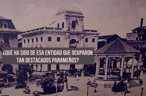 La Academia funcionó en donde está el Museo de Historia de Panamá. Foto: Municipio de Panamá
