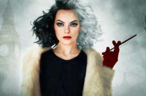 Emma Stone le da vida al papel de Cruella de Vil. Foto: Internet