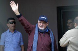 El expresidente Ricardo Martinelli ha denunciado desde el principio que este proceso ha estado lleno de violaciones penales. Foto: Archivo