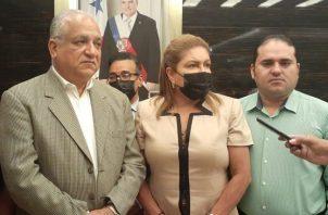 Equipo del expresidente Ricardo Martinelli