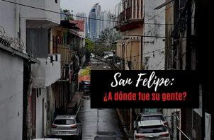 El corregimiento de San Felipe fue fundado el 26 de mayo de 1915. Foto: Víctor Arosemena.