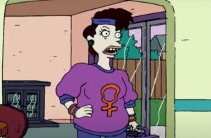 Betty en 'Rugrats'. Internet