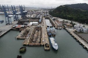 La reactivación del astillero de Balboa ha causado polémica. Foto: Cortesía AMP