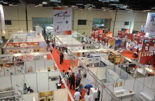 Los tres primeros días la entrada a Expocomer 2022 es exclusiva para expositores y compradores. Foto: Cortesía