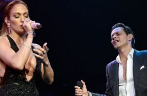 Jennifer López y Marc Anthony. Foto: Archivo