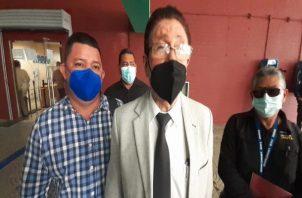 Los transportistas denunciaron a Juan Carlos Varela y Carlos Rubio por abuso de autoridad. Foto: Víctor Arosemena