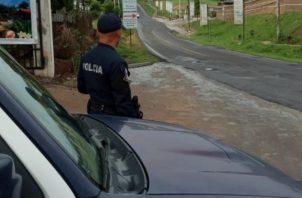 La mayoría de la flota vehicular de la Policía Nacional está fuera de circulación, lo que ha obligado a las autoridades a alquilar carros. Foto: Cortesía