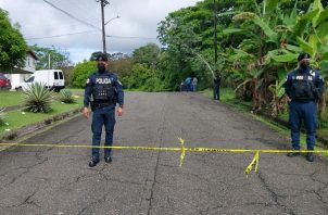 Los vecinos solo escucharon una ráfaga de balas en toda el área, lo que los alertó y de inmediato se dieron cuenta del homicidio. Foto: Diomedes Sánchez