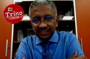 Eduardo Ortega-Barría, miembro del Consorcio de Investigación de Vacunas de Panamá. Foto: Cortesía
