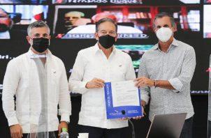 El pasado miércoles se dio la orden de proceder para la interconexión de la Cinta Costera III y la Calzada de Amador. Foto: Cortesía MOP