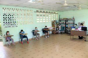 El resto de las 78 escuelas continuarán con lo acordado: Foto: Meduca