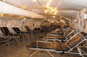 Se espera que la instalación del hospital móvil en Heredia, Costa Rica, comience la próxima semana.