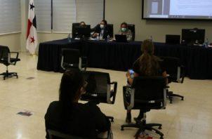 El acto público se realizó de manera virtual. Foto: Cortesía Metro de Panamá
