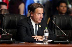 La gestión del expresidente Juan Carlos Varela ha sido duramente cuestionada por su falta de resultados positivos. Foto: Archivo