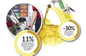 En los últimos meses el precio del combustible en Panamá se ha incrementado notablemente y eso se debe a la recuperación del consumo.