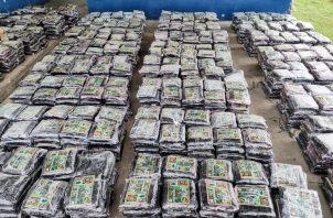 Las incautaciones de drogas han aumentado en los últimos meses.