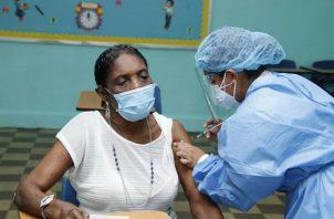 La vacunación contra la covid-19 en Panamá comenzó el 20 de enero de 2021. Foto: Cortesía Minsa