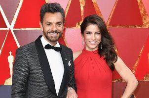 Eugenio Derbez y Alessandra Rosaldo. Foto: Instagram