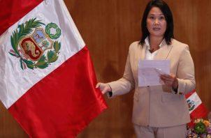 Juez peruano Víctor Zúñiga declaró infundados los pedidos que la candidata presidencial Keiko Fujimori. Foto: EFE