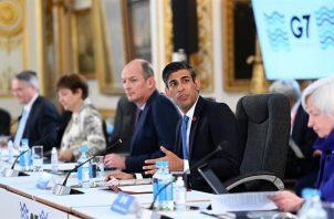 Reunión de líderes del G7. Foto: EFE