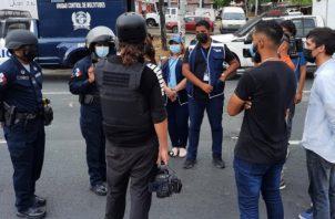 Defensoría del Pueblo atiende quejas por abuso policial. Foto: Cortesía Defensoría del Pueblo