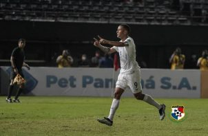 Gabriel Torres anotó 4 goles ante Anguila. Foto:Fepafut