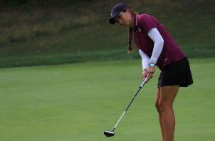 Laura Restrepo está feliz de ver los avances que ha tenido su juego. Foto: Cortesía Laura Restrepo