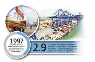 Los contratos de concesiones portuarias son por largos periodos para recuperar las cuantiosas inversiones.