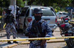 Violencia en medio de torneo electoral. Foto: EFE