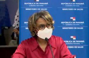 Viceministra de Salud, Ivette Berrío