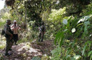 El recorrido por el Parque Internacional La Amistad, en el lado Pacífico de Chiriquí, duró una semana. Foto: Cortesía MiAmbiente