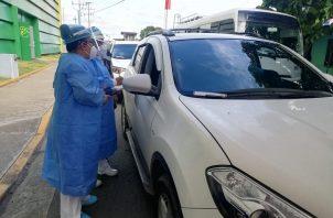 En Bocas del Toro se aplicaron dosis de AstraZeneca. Foto: Cortesía Minsa