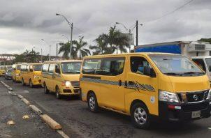 Se tomarán en cuenta a otros dueños de buses cuyas unidades no participaron anteriormente para que todos puedan recibir algún beneficio. Foto: Diomedes Sánchez
