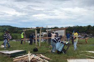 Un total de 352 familias precaristas de Playa Leona fueron trasladadas al corregimiento de Herrera. Foto: Eric A. Montenegro