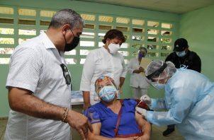 La vacunación contra la covid-19 es gratuita en Panamá. Foto: Cortesía Minsa
