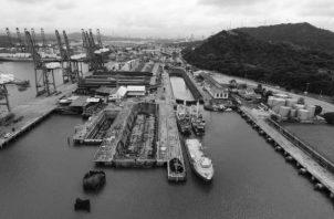 Hay que generar una alta capacitación de la Industria Naval, para que con la localización estratégica del Canal, se puedan favorecer las actividades de reparación y mantenimiento de buques en el Astillero de Balboa. Foto: Cortesía AMP.