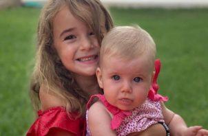 Ana y Olivia, la tragedia que conmueve al mundo. Foto: Redes Sociales