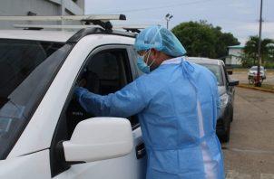 Personal de salud aplicó 12,855 pruebas nuevas de contagio en las últimas 24 horas. Foto: Cortesía Minsa